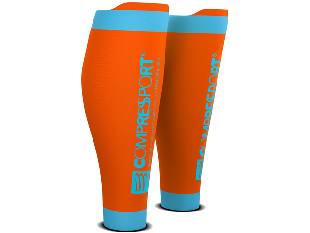 Compressport R2V2 Pohjesäärykset, orange